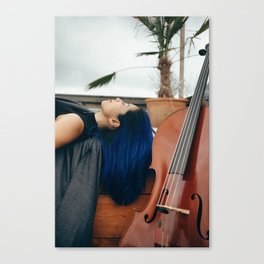 Cello Music for Meditation Canvas Print