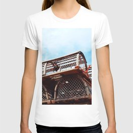 Lobster Trap Stack T-shirt