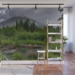 Alaskan Summer Rain Clouds, Kenai_Peninsula Wall Mural