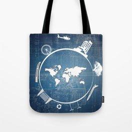 Global Engineering Tote Bag