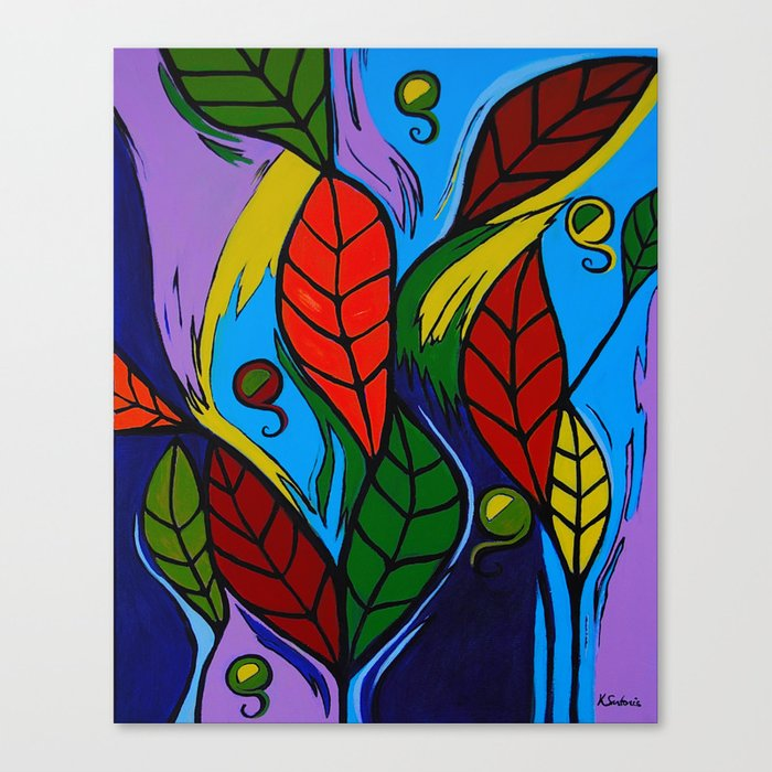 Lively Autumn Canvas Print