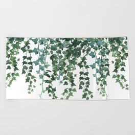 Ivy Vine Drop Beach Towel