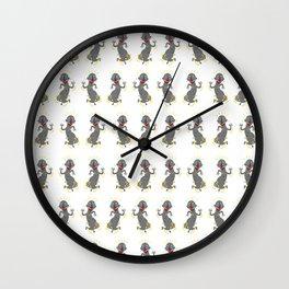 MAMBOO DANCING Wall Clock