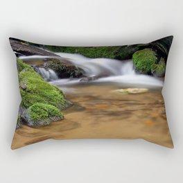 Between a Rock and a Hard Place Rectangular Pillow