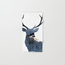 Stag Hand & Bath Towel