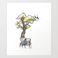 Music Tree Art Print