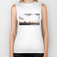 industrial Biker Tanks featuring industrial II. by zenitt