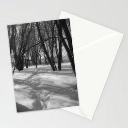 Deer Tracks Stationery Cards