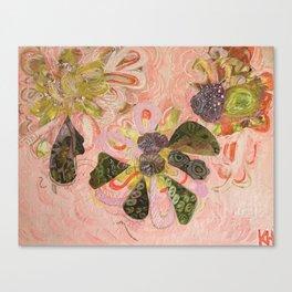 Blushy Bouquet Canvas Print