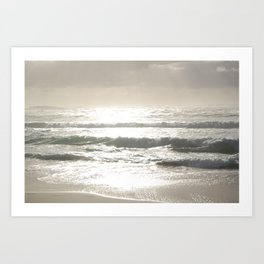 Sushine Camps Bay Beach Art Print