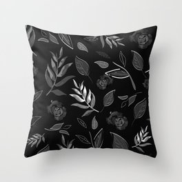 Simple and stylized flowers 18 Throw Pillow