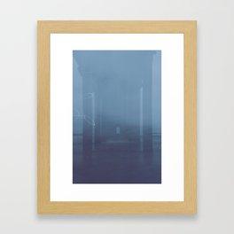 Ocean Pier Framed Art Print