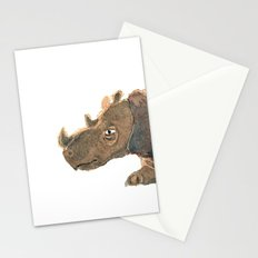 Thinking Rhinoceros Stationery Cards