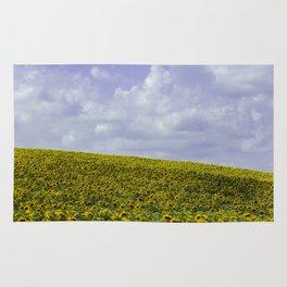 Field of Happiness - Sunflowers  Rug