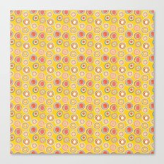 Bright Circles Robayre Canvas Print