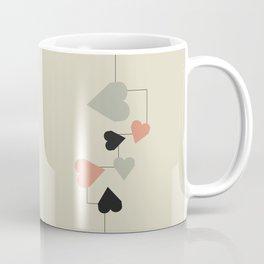 heart map Coffee Mug