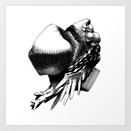 Lumps of the Twelvetide: Basil Art Print