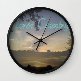 """""""Horse Country"""" Wall Clock"""
