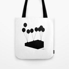 """""""Puffy Ross"""" Up and away Tote Bag"""