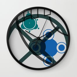 Abstract Space 03 Wall Clock