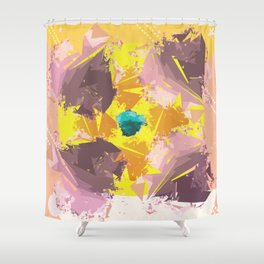 Colorful Abstract pattern design Shower Curtain