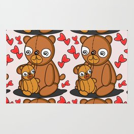 Mom's Bear Love Rug
