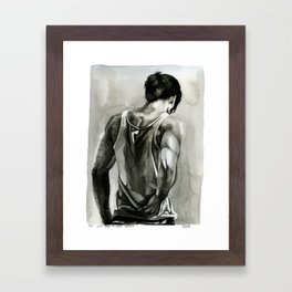 you just have to keep going Framed Art Print