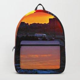 Sunset April 19/18 Backpack