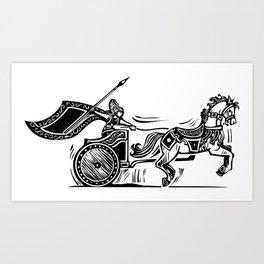 Valkyrie Chariot Art Print