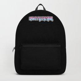 Heavy Metal Festival Death vintage Backpack