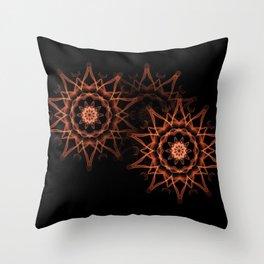 Star Group Throw Pillow