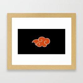 Akatsuki Cloud v2 Framed Art Print