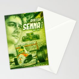 Ayrton Senna Tribute Stationery Cards