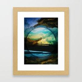 Sphere Reality Framed Art Print