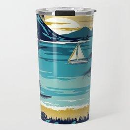 Vintage poster - Hawaii Travel Mug