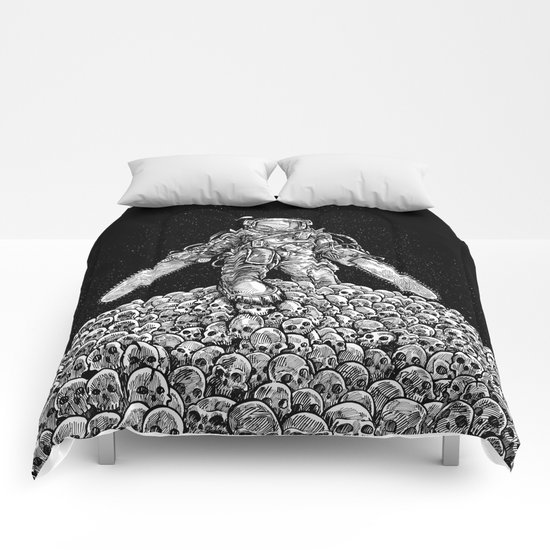 Texas Chainsaw Astronaut: New Moon Comforters