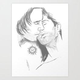 erotically codependent Art Print
