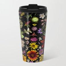 Flowers of Plants Native to Manitoba, Canada Metal Travel Mug