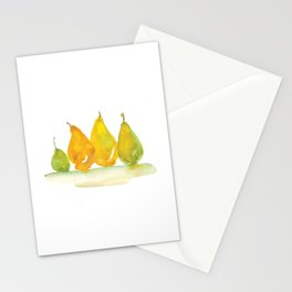 Colorful autumn fruits Stationery Cards
