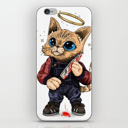 He's just a poor boy, he needs no sympathy iPhone Skin