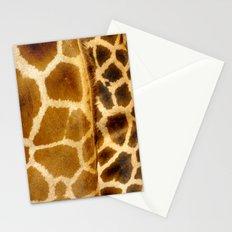 Giraffe skin. Stationery Cards