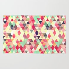 Triangles colors Rug