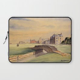 St Andrews Golf Course Scotland 18th Hole Laptop Sleeve