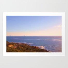 Ocean veiw Art Print