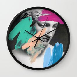 Composition 705 Wall Clock
