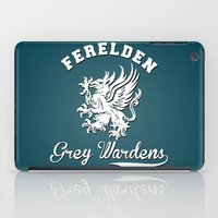 dragon age iPad Cases featuring Dragon Age - Ferelden Grey Wardens by firlachiel