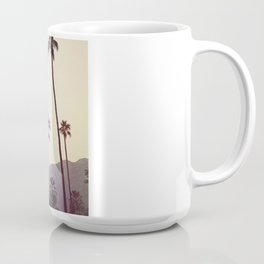 Palm Trees in the Desert Coffee Mug