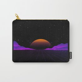 Vaporwave Outrun | Eighties Style Carry-All Pouch