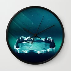Frozen Magic Wall Clock