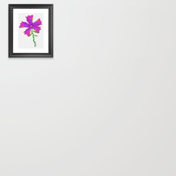Strange Flora #001 Gerahmter Kunstdruck
